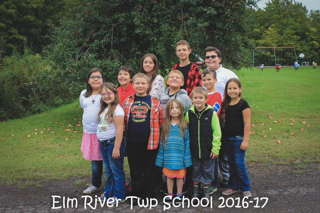 Photo of Elm River Students for 2016-2017