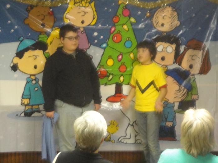 Group play for Christmas