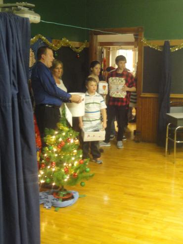 Group photo for Christmas