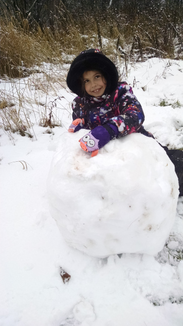 Rolling a snowball